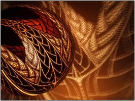Table lamp X - Fractal by Calabarte