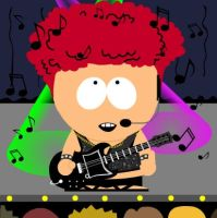 Rock star Kyle by freacls