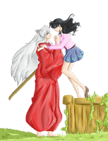 InuYasha and Kagome - Finale by Ebsie