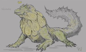 Royal Ludroth, the Sponge by Halycon450
