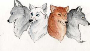 The Fearless Four by threefourthsginger