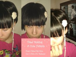 A Selfmade Hair Accessory by Haiji-chan