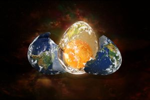 Earth Egg by Madhatterl7