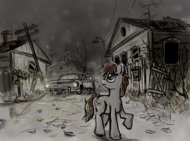 In the middle of nowhere by Ulyanovetz