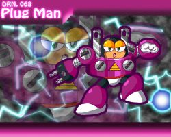 Plug Man Powered Up Wallpaper by Galaxyman-da-Awesome