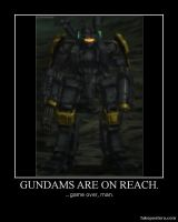 Mobile Suit Halo Reach by NegativeCalculate