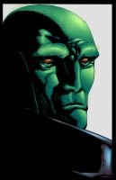Martian Manhunter by Galon