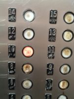 elevator 03 - buttons by n-gon-stock