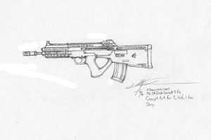 Mk 1A Combat Rifle. ERRG by Broadshore