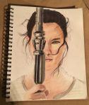 Rey Colored Pencil by FishingPepBand