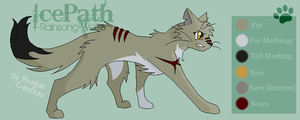 Icepath Reference Sheet- by Rainsong-Wolfe