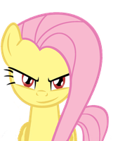 Fluttershy:It is on! by Amoagtasaloquendo