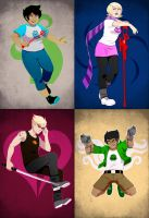 Homestuck: Alpha Kids by PunPuniChu