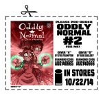 Pre Order Oddly Normal Issue 2 by OtisFrampton