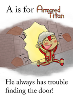 A is for Armored Titan by HighwaterTrousers