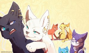 Nonai Cats by Nerior