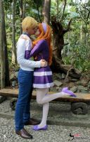 Daphne Blake and Fred Jones *--* by BabiSparrow