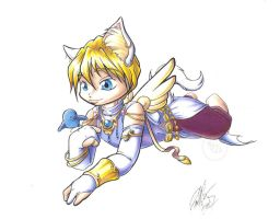 Quatre mage kittycolors by Bee-chan