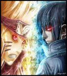 Naruto vs Sasuke by SegmaKun