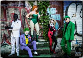 The Rogues Gallery by PulpAddedCosplay