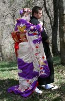 Ode To Kyoto Couple 23 by Falln-Stock