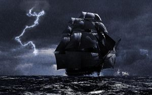 a Ship In a Storm by ShockHit