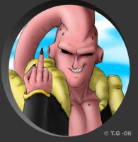 Majin Buu - TAKE THIS by Thrior