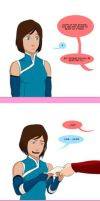 korra reacts to  50 shades of grey by ziqman