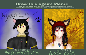 Draw this again meme~ Kaname by Ace-Of-Shadow