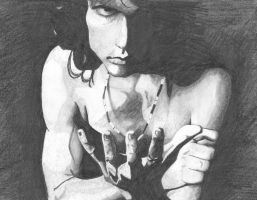 Jim Morrison by Myschief