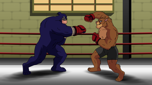 Sparring Partners (Boxing) by FantasyFlixArt