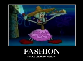 squidward fashion by youtwitface