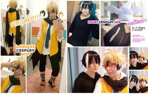 Servamp Cosplay - Licht and Lawless by kayleighloire