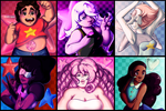 Steven Universe Group by Deadly-Spade