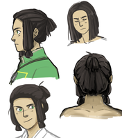 More Toma head sketches by SkiM-ART