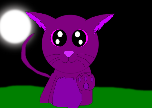 me as a cat by MALFANFOREVER13