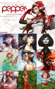 Pepper Project Coloring Contest by Artgerm