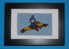The Only Way to Fly Cross Stitch by chujo-hime