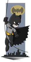 Super Chibi: Batman by shiken