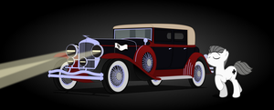 Walthers Car  'Ubermacht Leader Star V18' by BRONYVAGINEER