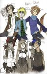 Monster School characters by BlasticHeart