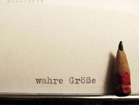 wahre Groesse by Schattmeibe