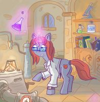 Power of science by Raddjuret