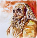 old man by FDupain