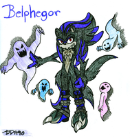 Belphegor the Incubus by DaydreamingArtist90