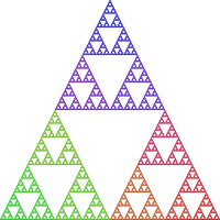 Classic: Sierpinski triangle by paxinum