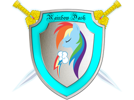 Rainbow Dash Shield by MLR19