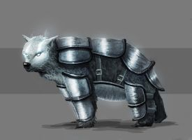 Furry armored thingy of doom! by Imrooniel