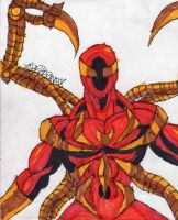 Profile of Iron Spider-Man by ChahlesXavier