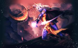 PLAYED AROUND WITH COLOURS ON SORAKA XD by Ptorcja